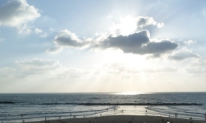 The Mediterranean Sea at Tel Aviv.